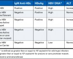 Acute and Chronic HBV