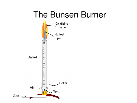 the bunsen burner
